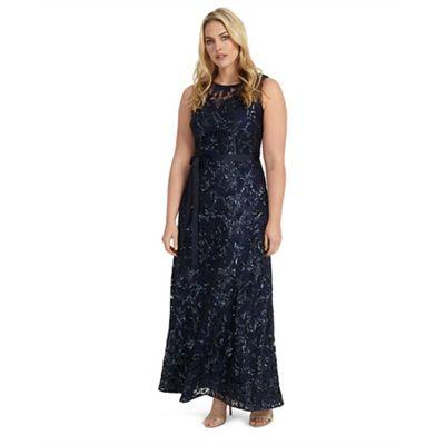 Sizes 12-26 mercury dress