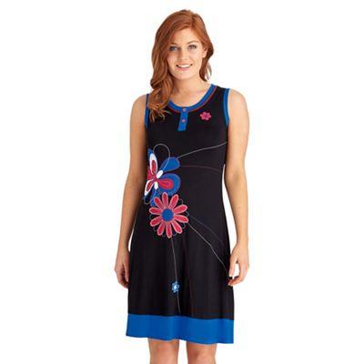 Multi coloured wow wow wow dress