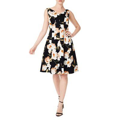 Petite blair printed dress