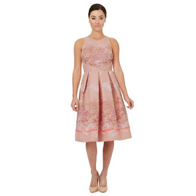 Pale pink jacquard 'Caleb' prom dress