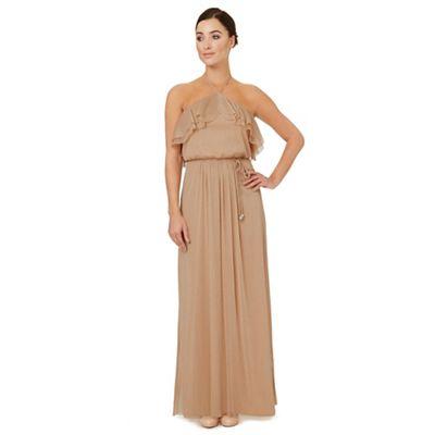 Light gold 'Cavalier' bridesmaid dress