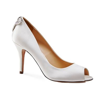 Peep toe 'Clarity' shoes