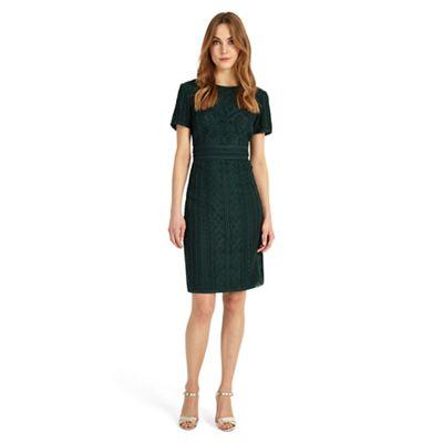 Green Delaware Tape Dress