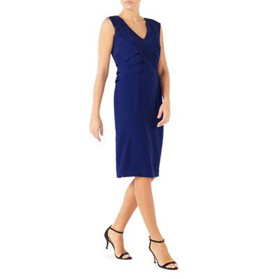 Panel layers shift dress