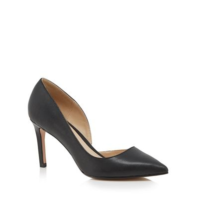 Black 'Jade' high stiletto pointed shoes