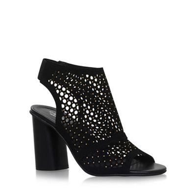 Black 'Anabelle' high heel sandals