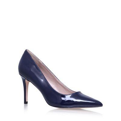 Blue 'Kray2' high heel court shoes