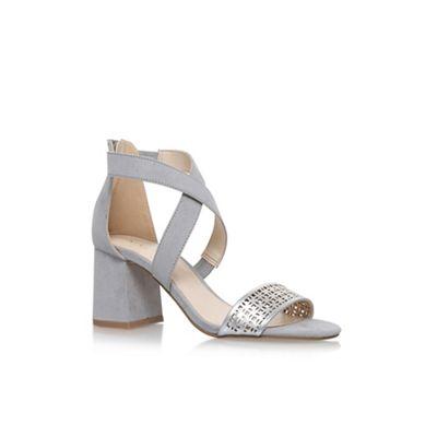 Grey 'Chandelier' high heel sandals