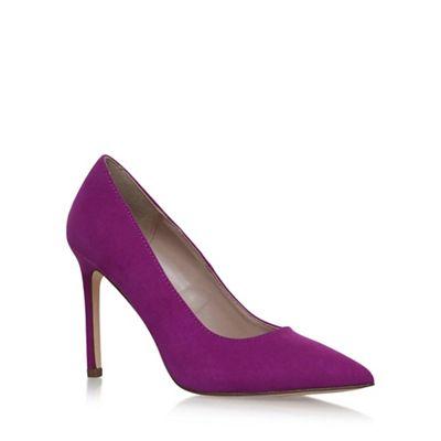 Purple 'KESTRAL2' high heel court shoes