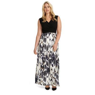 Sizes 12-26 federica maxi dress