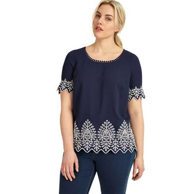 Sizes 12-26 Lily Top
