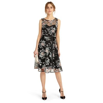 Debenhams Exclusive - Black 'Prudence' dress