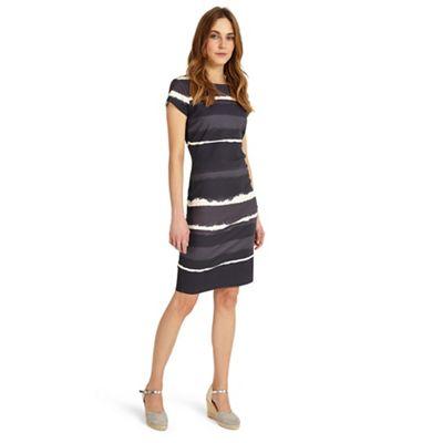 Grey annika ombre dress