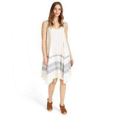 White chloe-mae stripe dress