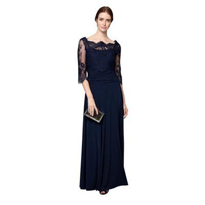 Blue romily full length dress