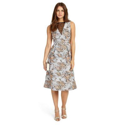 Elebeth jacquard dress