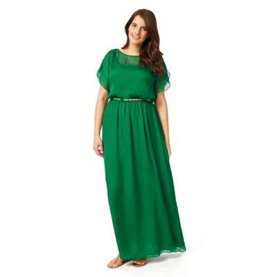 Sizes 12-26 Green Neptune dress