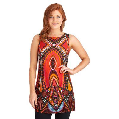 Multi coloured mexicana tunic