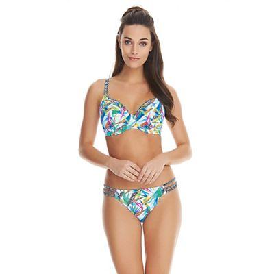 Tropicool Plunge Bikini Top