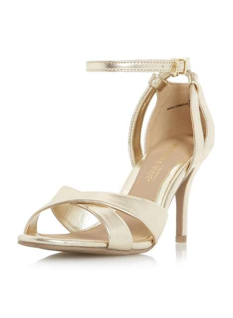 **Head Over Heels 'Maddie' Mid Heel Sandals