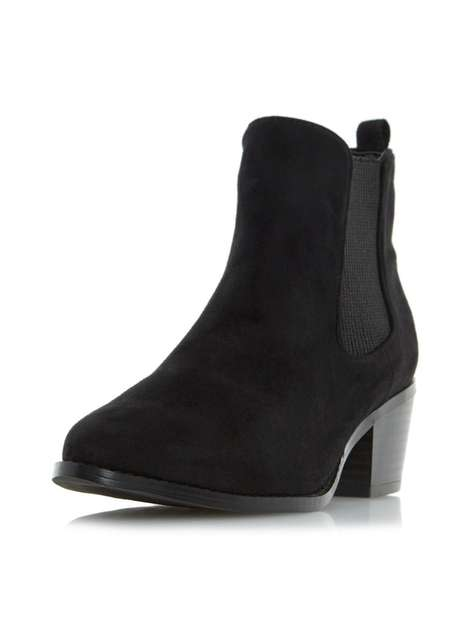 ** Head Over Heels 'Perina' Black Ankle Boots