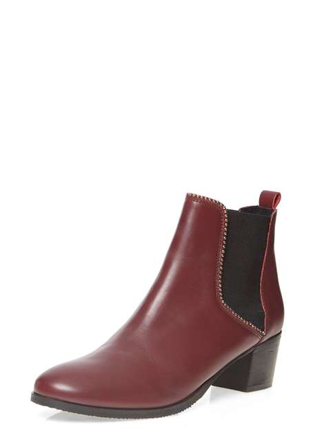 ** Ravel Cherry Ankle Boots