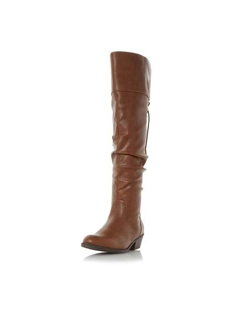 **Head Over Heels Dune Tan 'Tammy' Boots