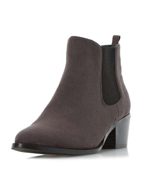 ** Head Over Heels 'Perina' Grey Ankle Boots