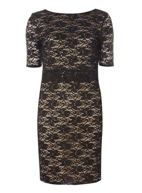73c6b0ff13f   Billie   Blossom Petite Black Lace Bodycon Dress