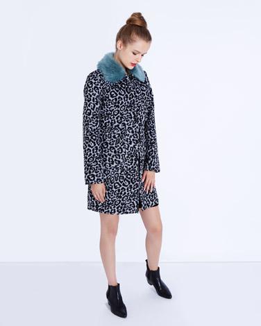 5611c0fd95d3f Savida Leopard Coat