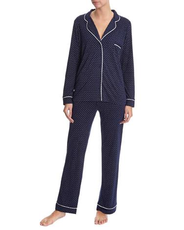 Navy Spotted Pyjamas