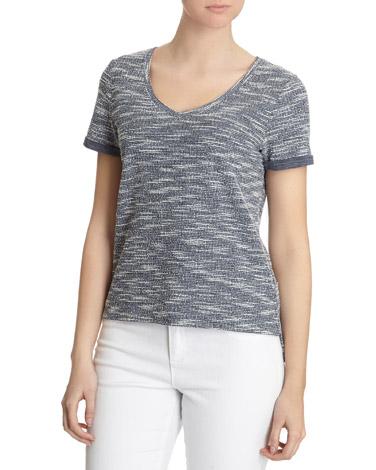 Boxy Textured T-Shirt