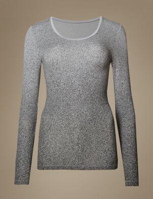 b16e6f7453 Heatgen trade  Long Sleeve Thermal Top