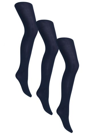 60 Denier Opaque Tights Three Pack