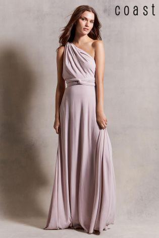 bright n colour enjoy complimentary shipping really cheap Blush Coast Corwin Multi Tie Maxi Dress