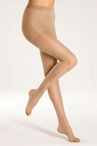 Active Legs Nude 15 Denier Tights Two Pack