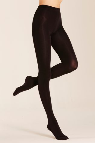 Black Super Cosy Tights