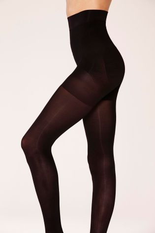 Black 60 Denier Wow Shaping Tights