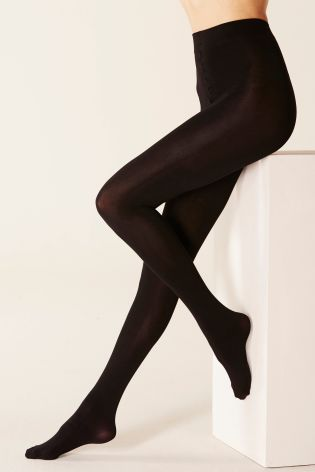 Black 200 Denier Opaque Tights