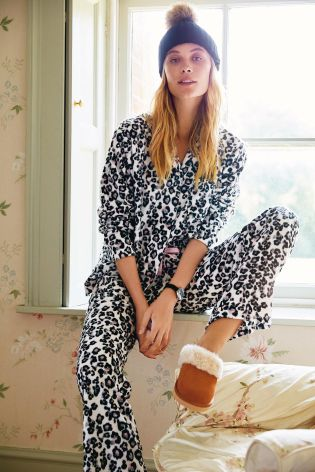 Animal Cosy Wrapband Pyjamas