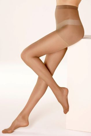 15 Denier Matt Espresso Tights Three Pack