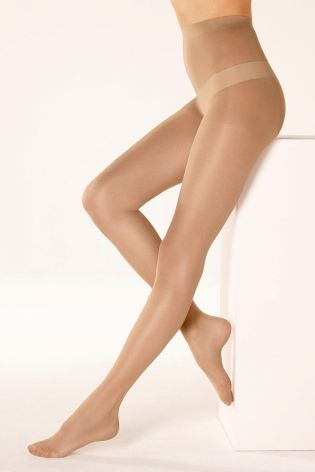 15 Denier Matt Nude Sheer Tights Three Pack
