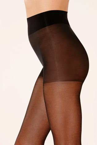 40 Denier Black Ultimate Comfort Tights Two Pack