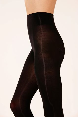 60 Denier Black Ultimate Comfort Tights Two Pack