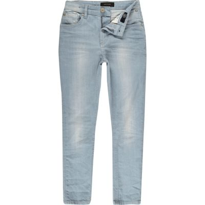 8c97d5970fc Boys light blue wash Sid skinny jeans